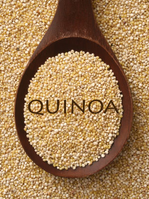 quinoa for a flat stomach
