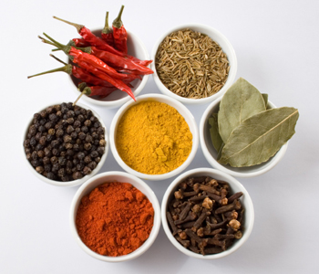 herbs and spices for a flat stomach