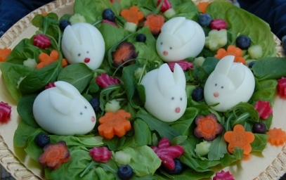 HEALTHY EASTER EGG SALAD