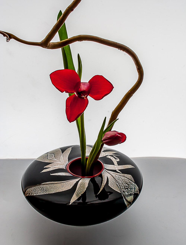 grass ikebana