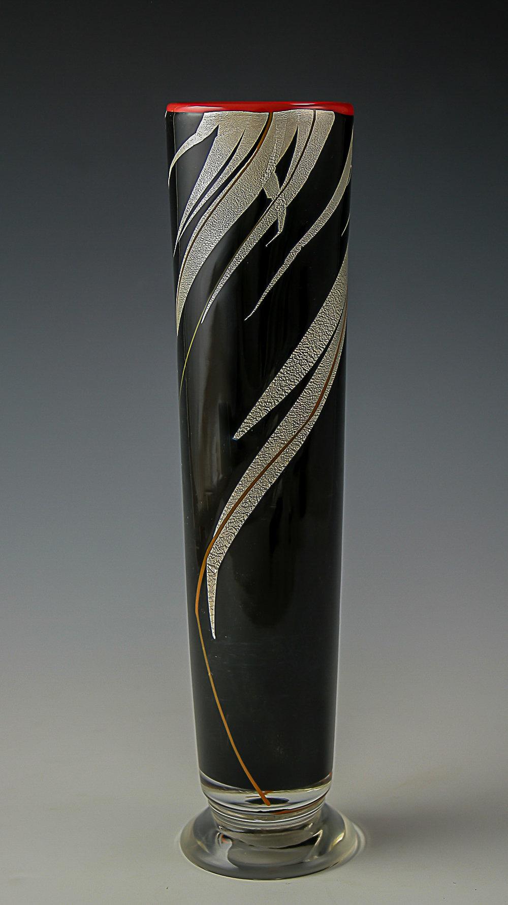 grass bud vase