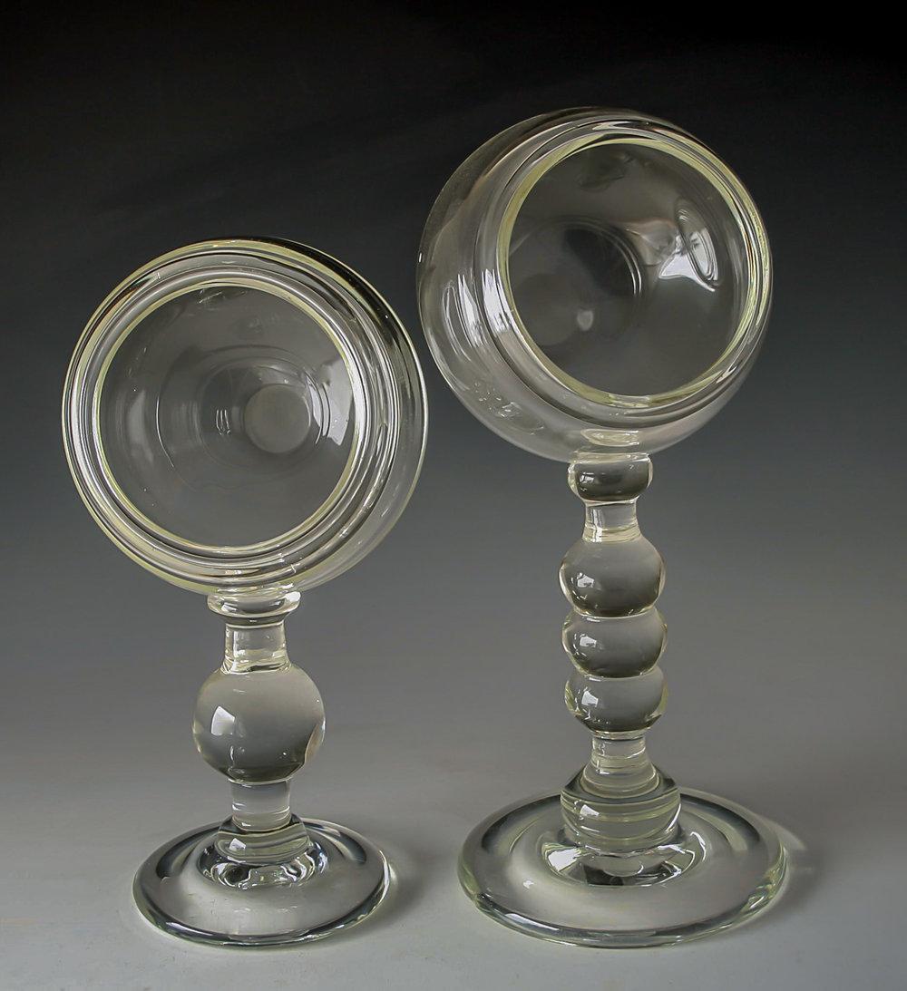globe pedestals