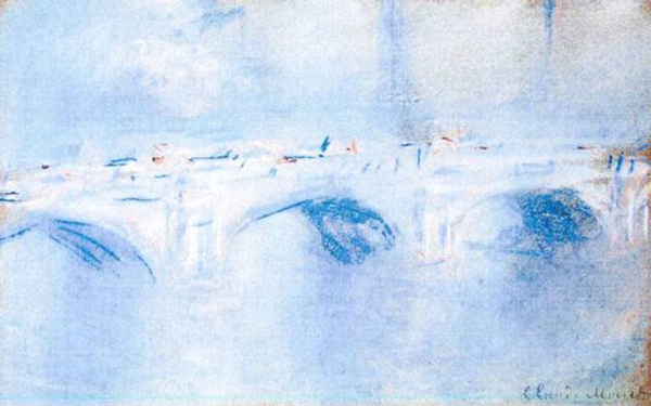 Waterloo Bridge, London, 1901. Claude Monet.