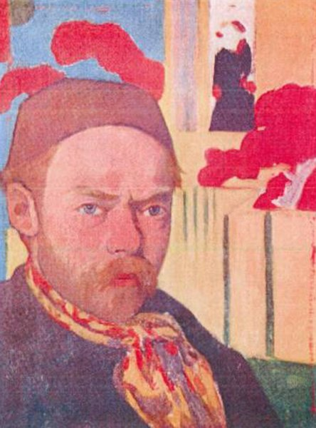 Autoporträt, 1889–1891. Meyer de Haan