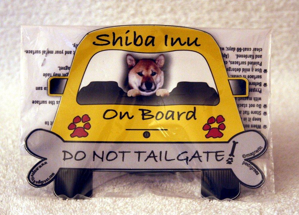 Shiba Inu On Board Magnet