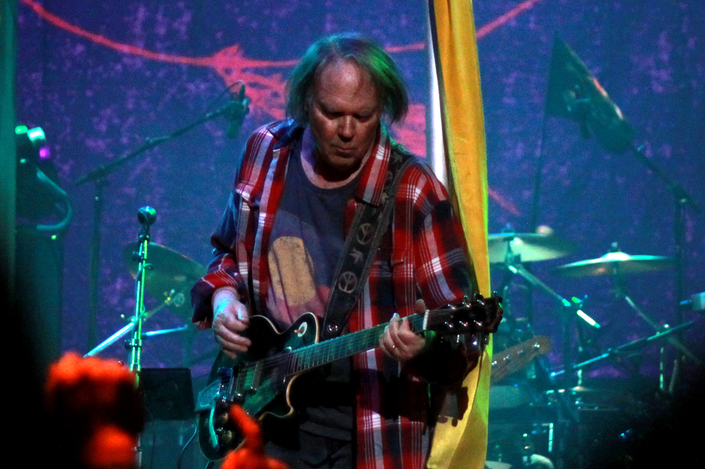 Neil Young and Crazy Horse - 2012