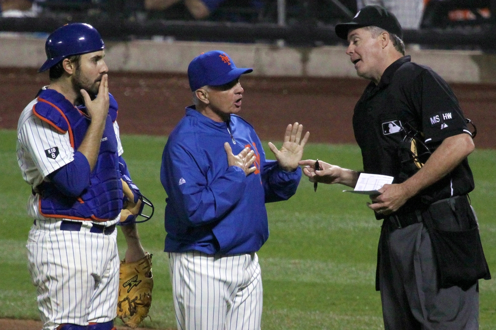 Terry Collins Argues