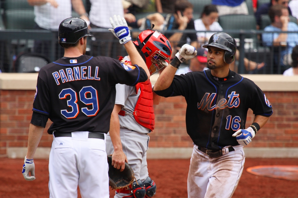 Angel Pagan - Bobby Parnell