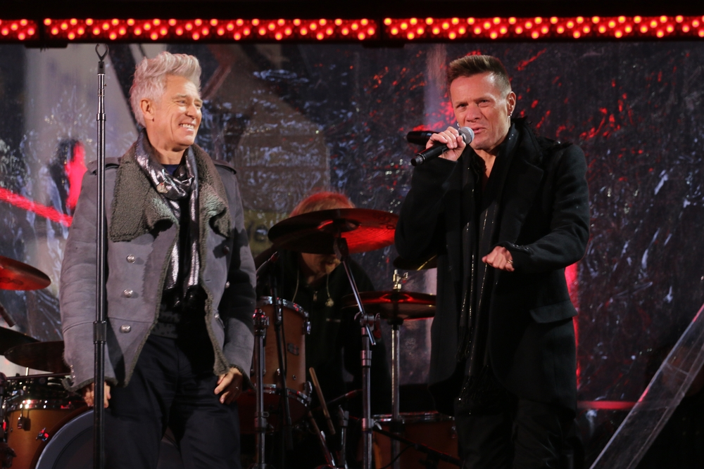 Larry Mullen Jr. and Adam Clayton Introduce Kanye West