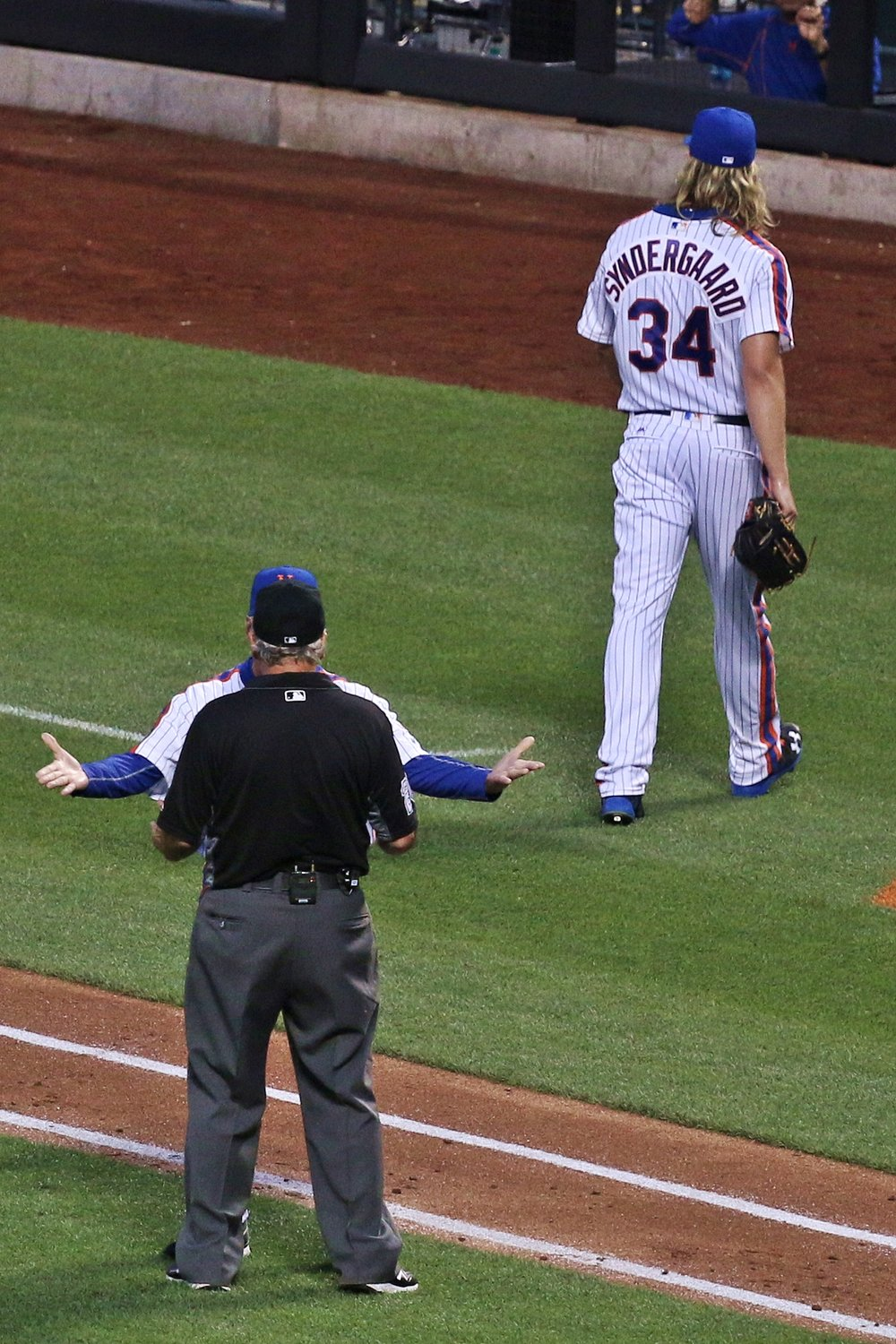 Syndergaard Ejected, Collins Argues