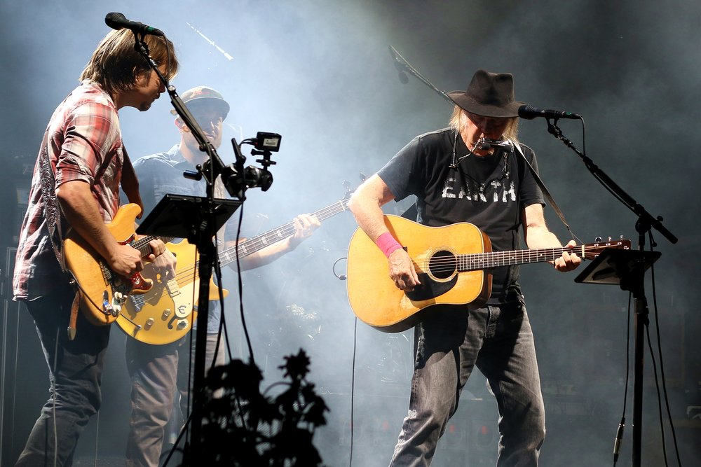 Neil Young and Promise of the Real - 2015