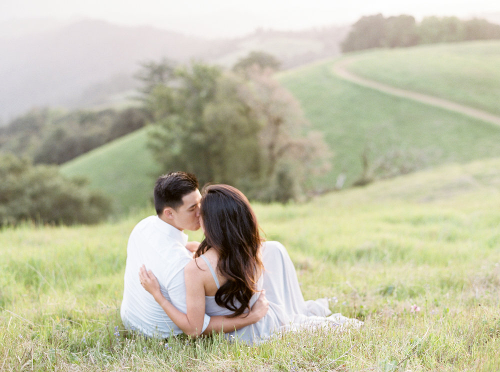 Saratoga Engagement Session - Destination Fine art wedding photography - Kristine Herman Photography