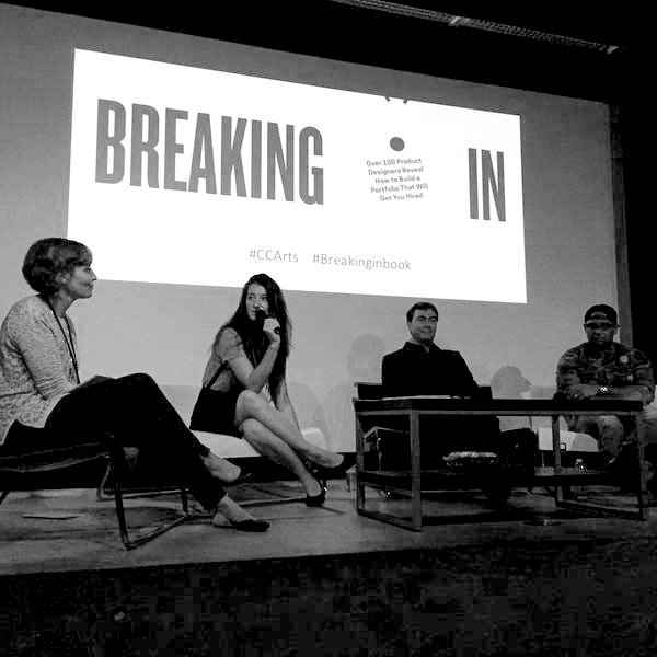 Breaking In®: Product Design Panel at CCA