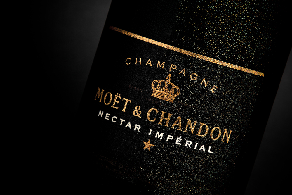 Moet & Chandon Nectar Imperial Test Shoot