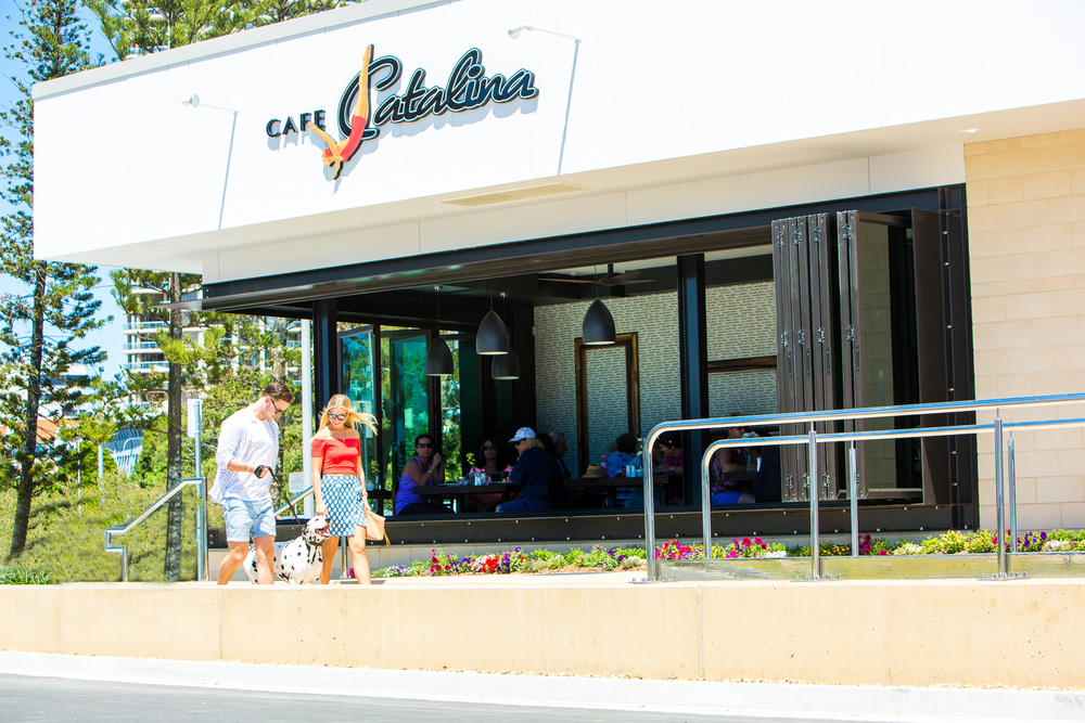 Client: Cafe Catalina, Southport