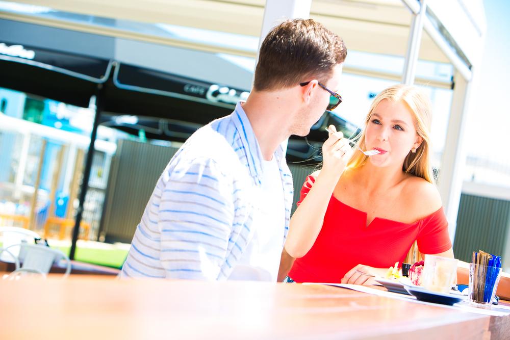 Client: Cafe Catalina, Southport  Model: Ella Furlong