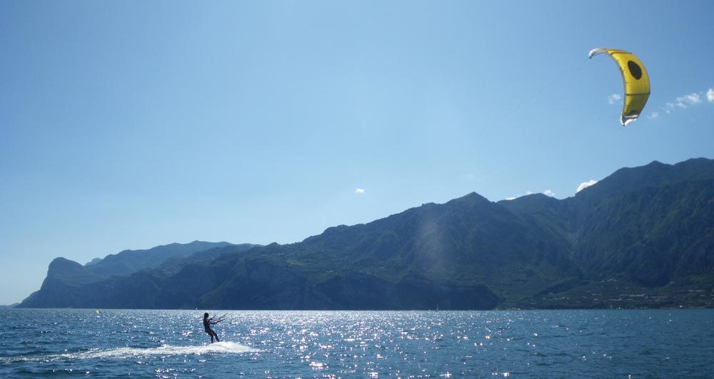 kitesurf Lac de Garde