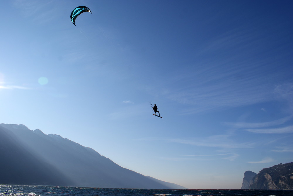 kitesurf camp lake garda july & august