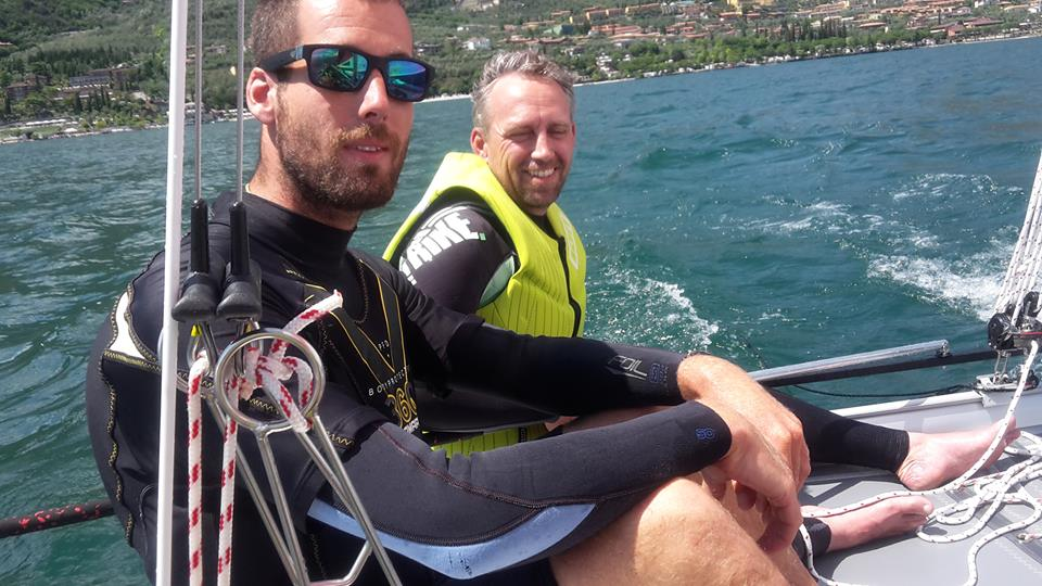 topcat catamaran sailing lessons In Limone, Lake garda