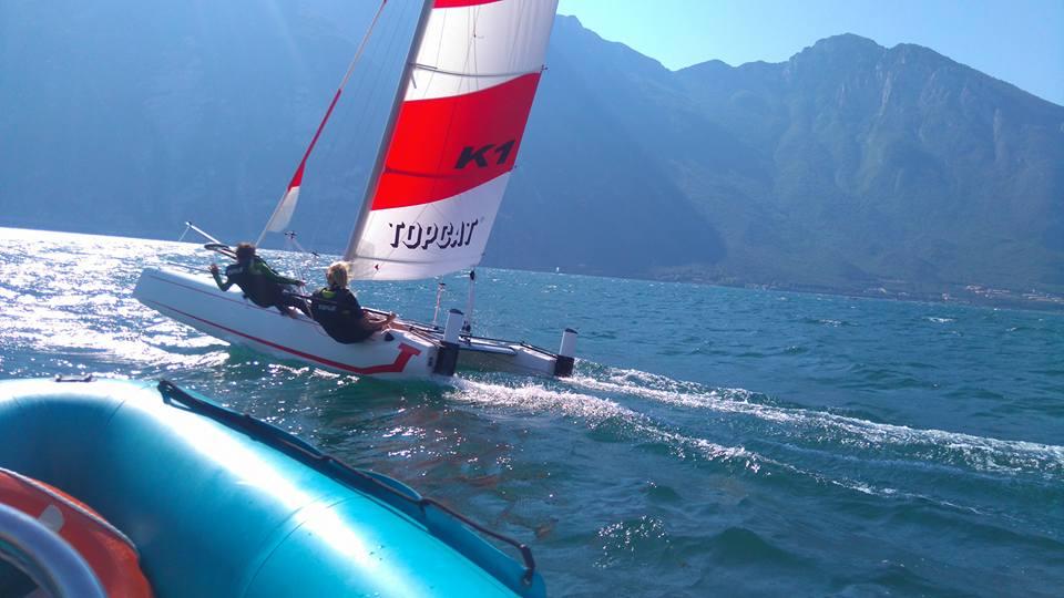 catamaran unterricht october angebot gardasee!