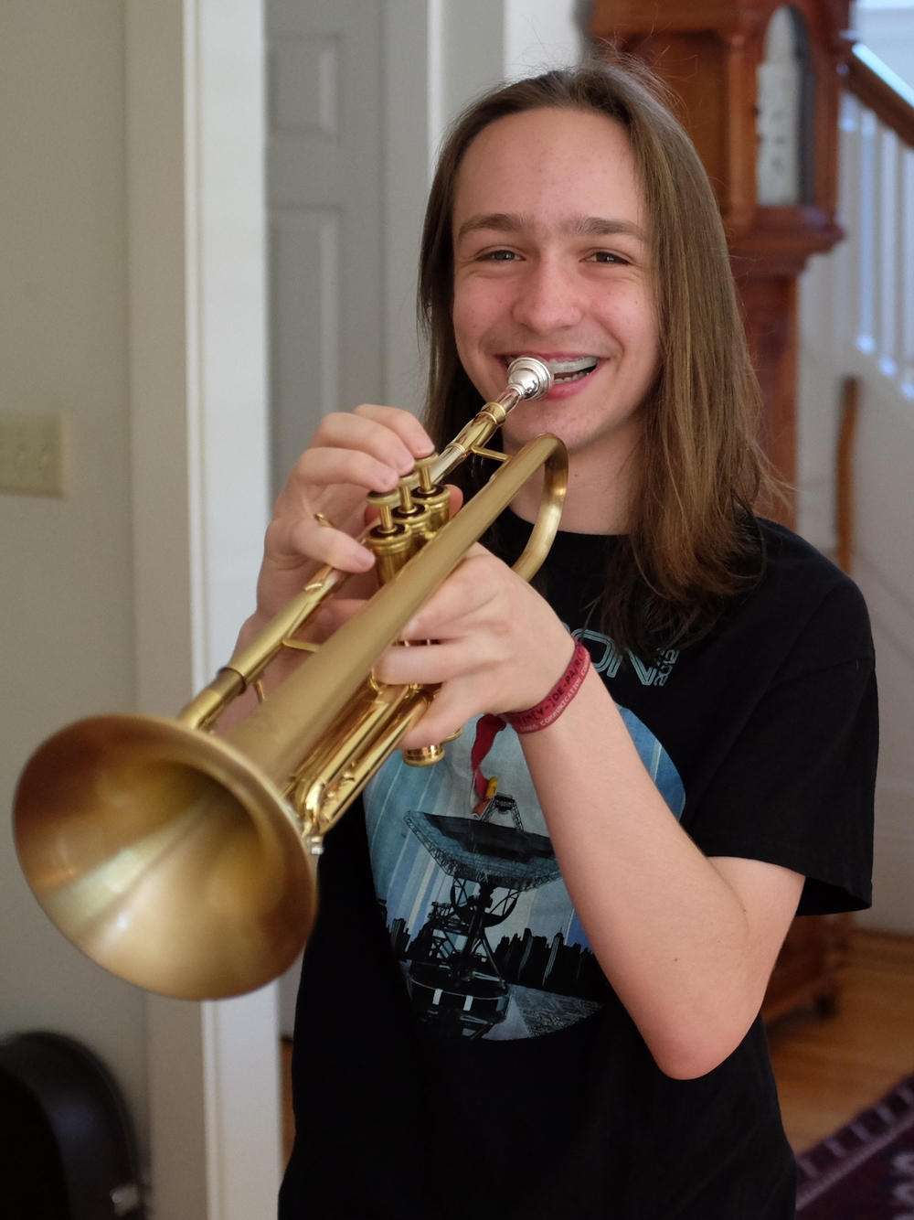 """Trumpet at """"The Lesson House"""""""