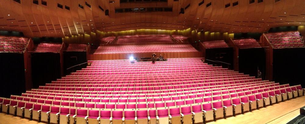 Sydney Opera House soundcheck