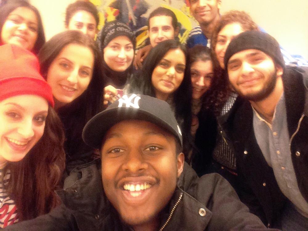 Ungdomsledarnas selfie!