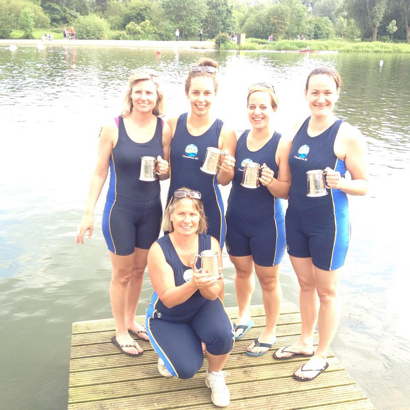 Peterborough Spring Regatta, Sunday, Novice 4+ Winners