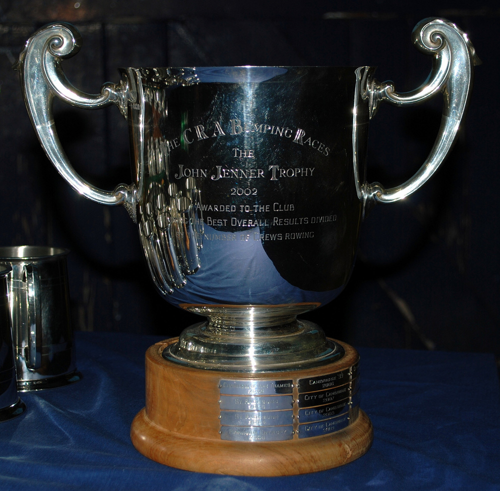 John Jenner Trophy Winners 2013