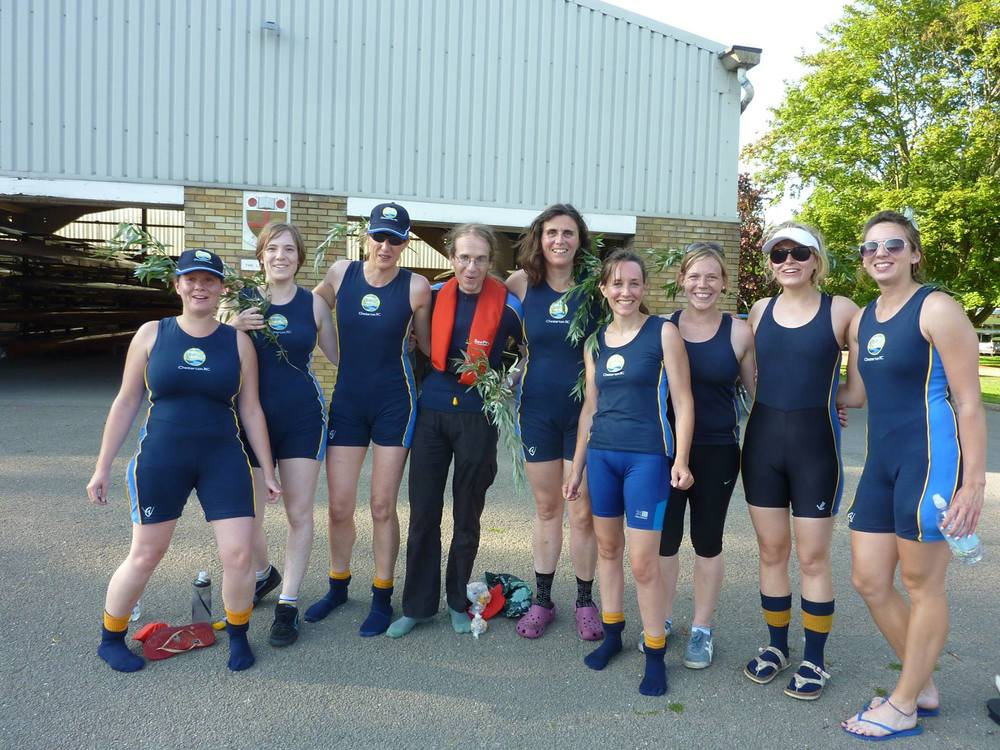 W3 - outside Combined Boathouse, after bumping 99's W6.