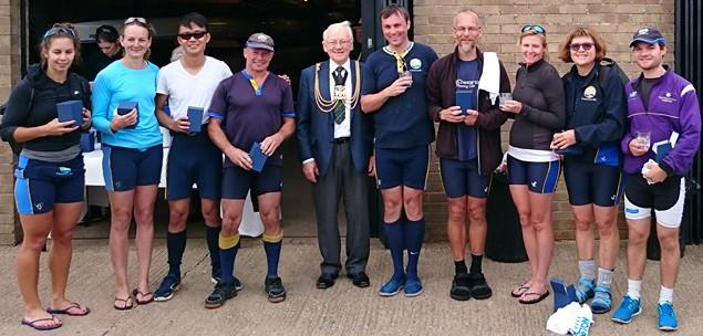 Bailee (S), Amanda (B), Keith (3), Dave R (4), the Mayor, Dan (5), William (6), Lorraine (7), Anne (2); Will (Cox).