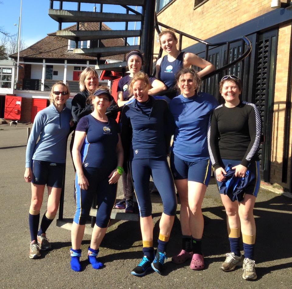 Amanda Clarkson, Meg Richards, Angela Barkes, Jo Raskin, Katie Bolt, Amelia Chilcott, Dawn Hawkins, Hannah Parish plus I think also Alex Reich (not in pic).