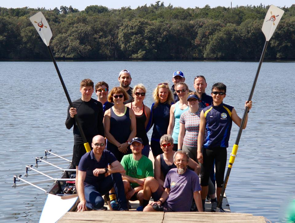 Front L to R: Brian, Will, Simon E, Me; Rear L to R: Lewis, James, Anne, Simon L, Pamela, Lorraine, Dan, Amanda, Amy, Chris, Keith.
