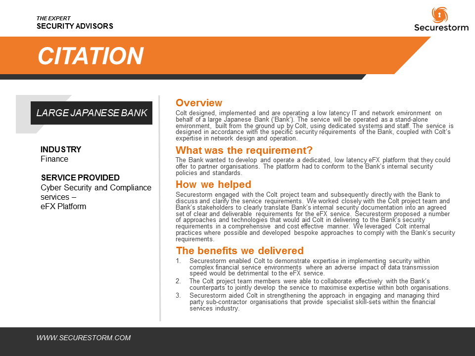 Citation - Japanese Bank