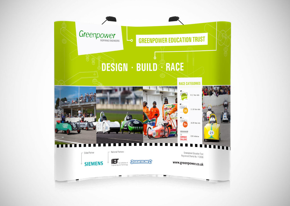 Greenpower Education Trust Exhibition Stands