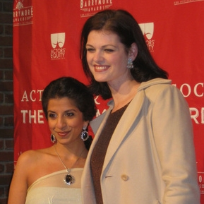 2011 Barrymore Awards w/ Kate Shindle (former Miss America & Regional VP of AEA)