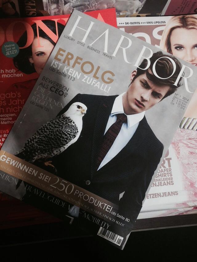 """DOPAMIN MODELS – Interview HARBOR Magazine (german) """"Einblick in das Leben eines Models""""– Model Management und Modelagentur in Düsseldorf"""