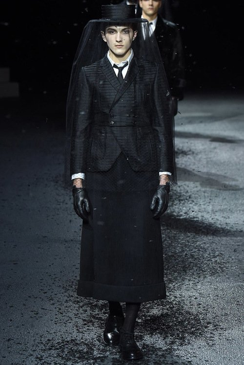 Thom Browne F/W 15    Men's Show Paris