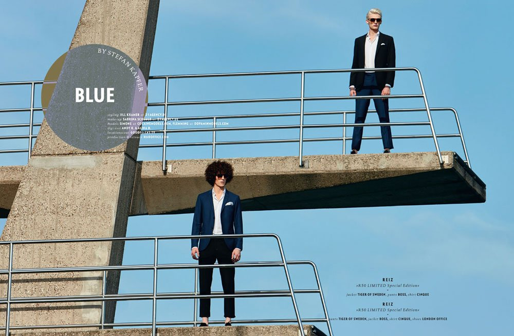 Flemming @ DOPAMIN Düsseldorf – Editorial for Eyewear Magazine by Stefan Kapfer