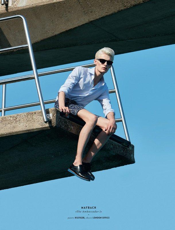 Flemming @ DOPAMIN Düsseldorf – Editorial Eyewear Magazin, Fotograf: Stefan Kapfer