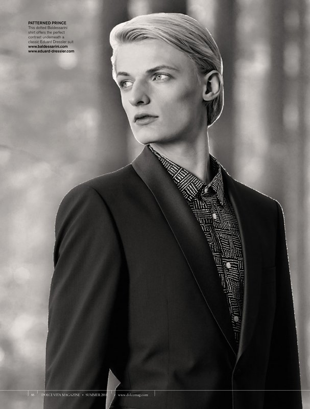 Flemming – Editorial for Dolce Magazine Canada by Claudius Holzmann