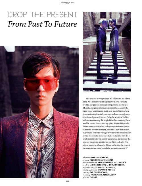 Sebin @ DOPAMIN by Burkhard Henrichs Düsseldorf for Spectr International Eyewear Fashion Magazine