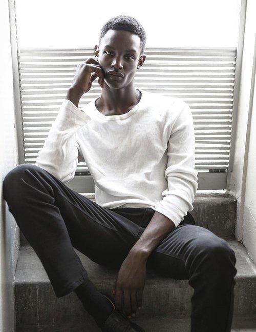 Victor Ndigwe @ DOPAMIN Modelagentur Düsseldorf –Vogue Italia