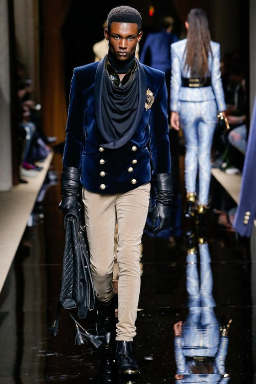 Balmain F/W 16 Men's Show Paris
