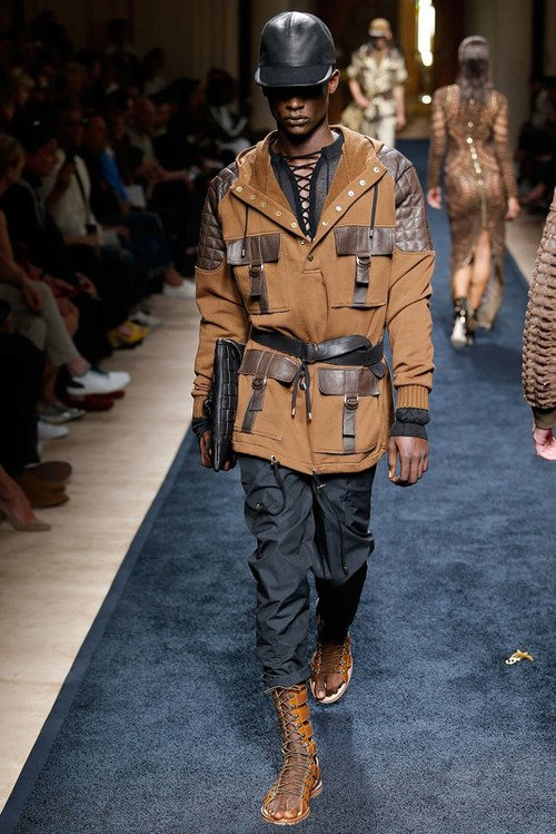 Balmain S/S 16 Men's Show Paris