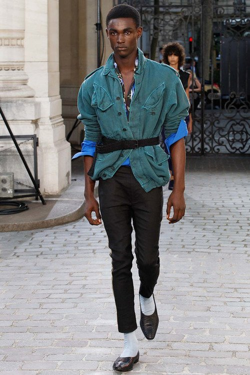 Haider Ackermann S/S 16 Men's Show Paris