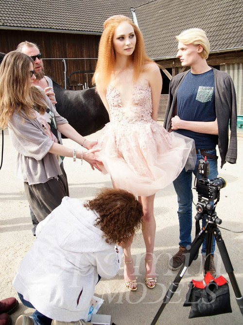 """making-of Editorial """"La Confiance"""" for Dolce Vita Luxury Magazine Canada"""