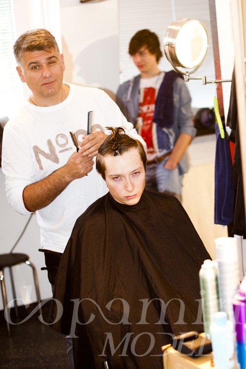 """making-of Editorial """"BOYS TO MEN"""" for C-Heads Magazine Austria /4 – Modelagentur Düsseldorf, Köln und Berlin"""
