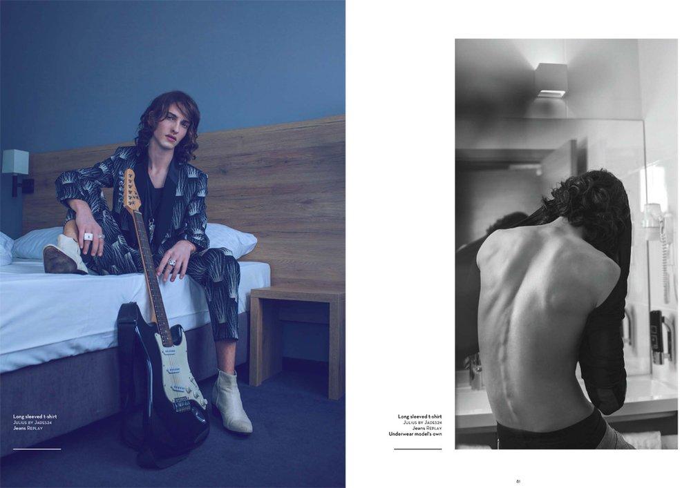 Pascal @ DOPAMIN Düsseldorf, Hannover & Berlin by Claudia Diaz Dortmund for Hedonist Magazine London