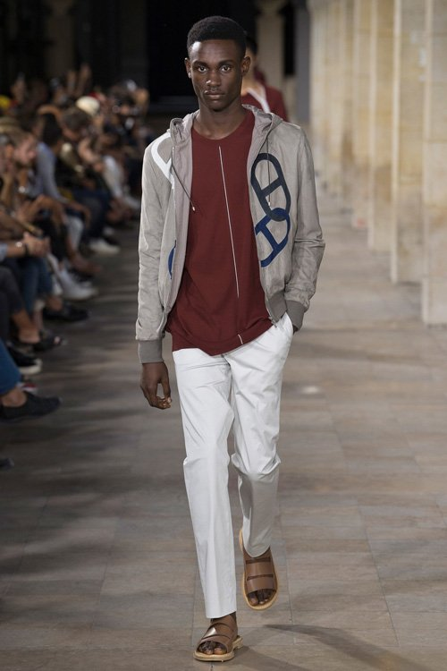 Hermes S/S 18 Men's Show Paris